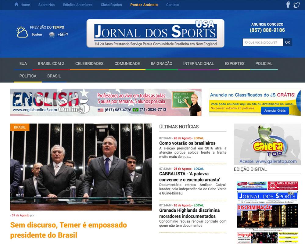 Jornal dos Sports USA
