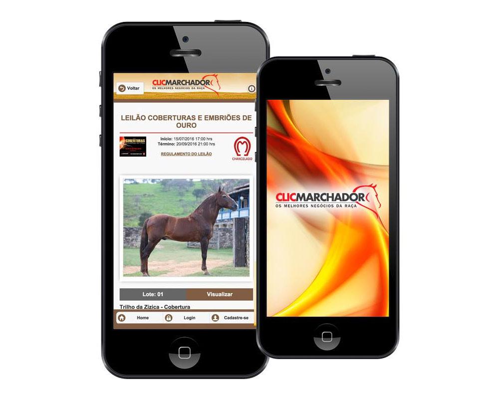 ClicMarchador - Leilões de Cavalo