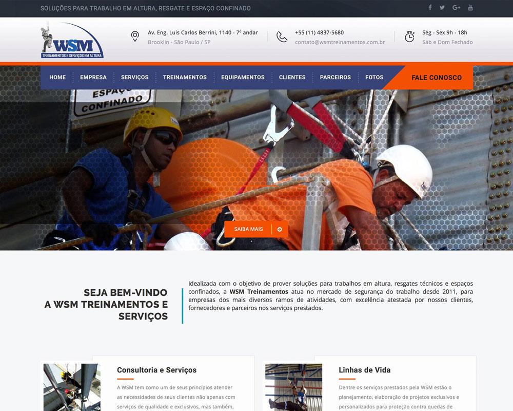 WSM Treinamentos e Serviços