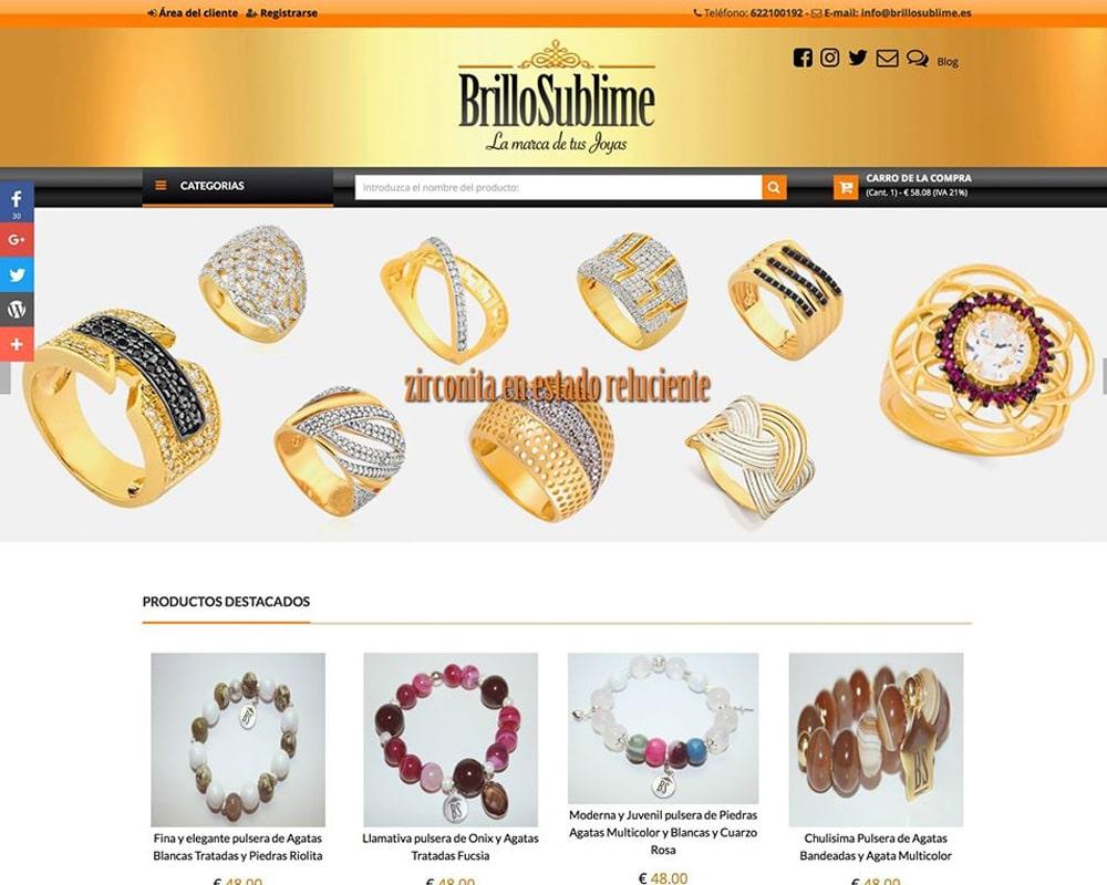 BrilloSublime - La marca de tus Joyas